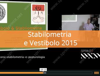 Stabilometria e Vestibolo 2015